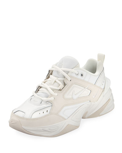 M2K Tekno Leather Sneakers