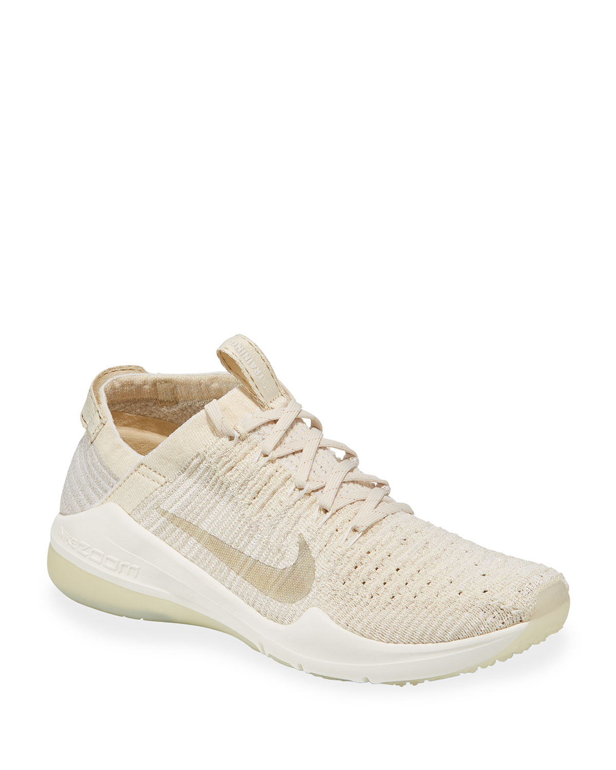 9460072bfe77 Nike Air Zoom Fearless FlyKnit 2 Metallic Sneakers