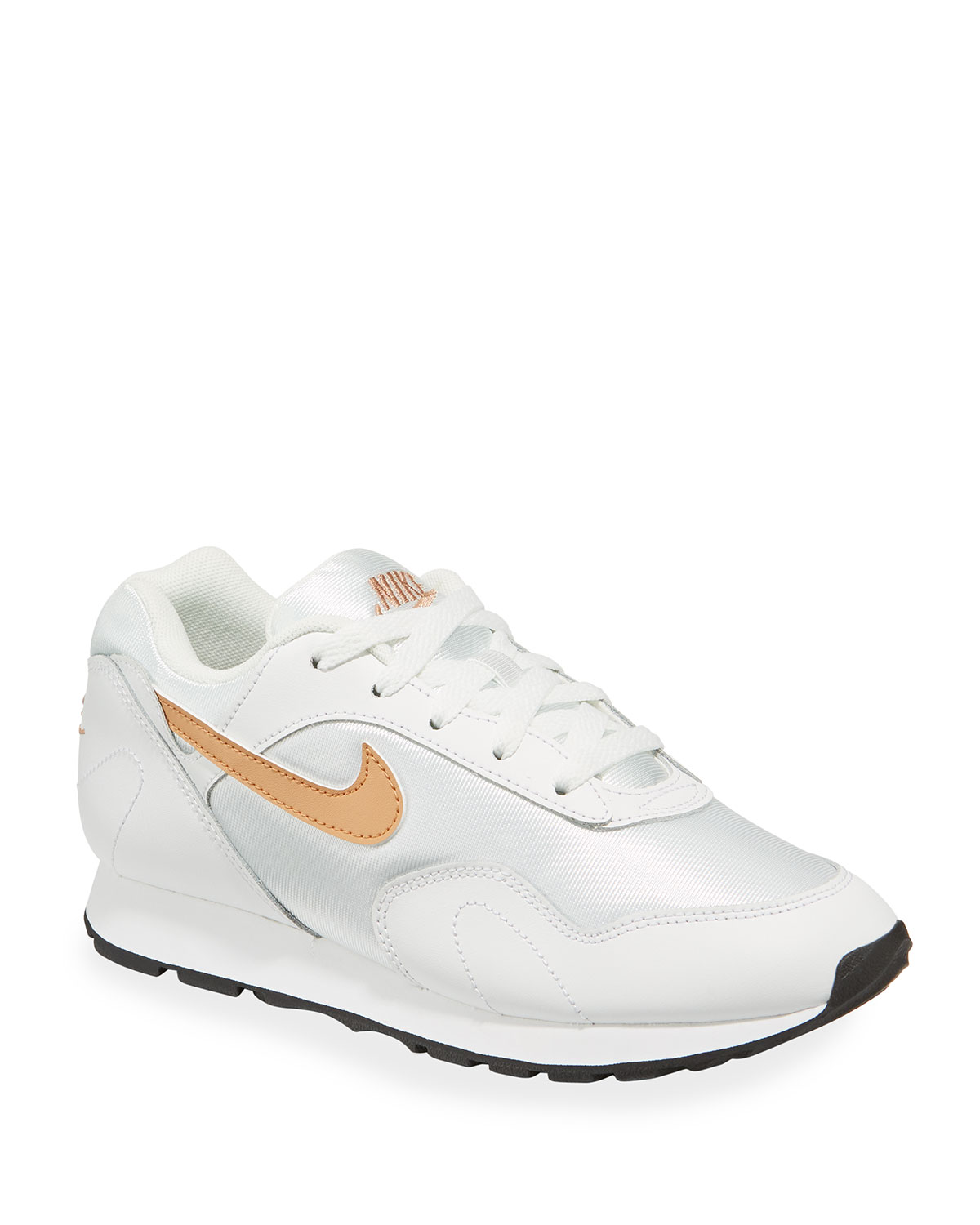 5497ddc27c148 Nike Outburst Mixed Lace-Up Sneakers