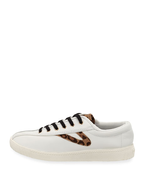 NY Lite 15 Plus Leather Low-Top Sneaker