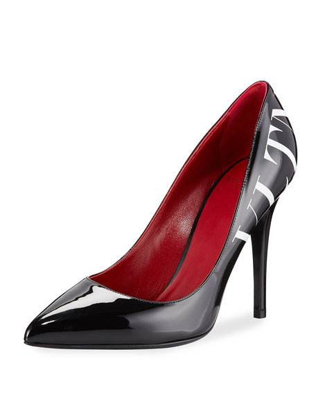 VLTN Patent Pointed-Toe Pumps