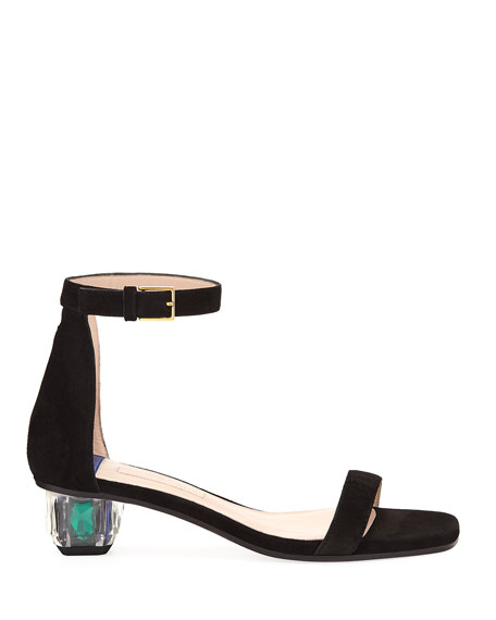 Star Crystal Low Sandals