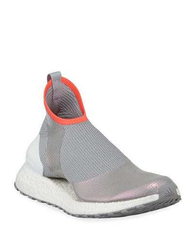 Ultra Boost X Fabric Sneakers  Gray/White