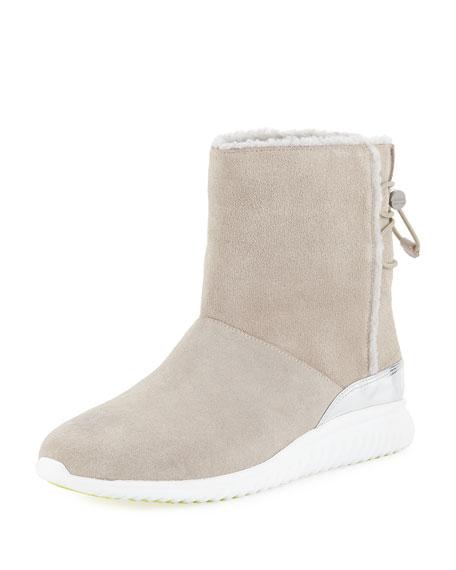 Studiogrand Waterproof Slip-On Boots, Dove in Dove Waterproof Suede