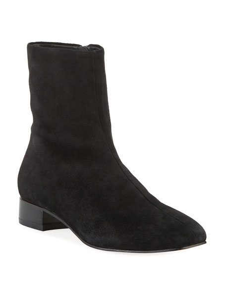 Aslen Flat Suede Booties