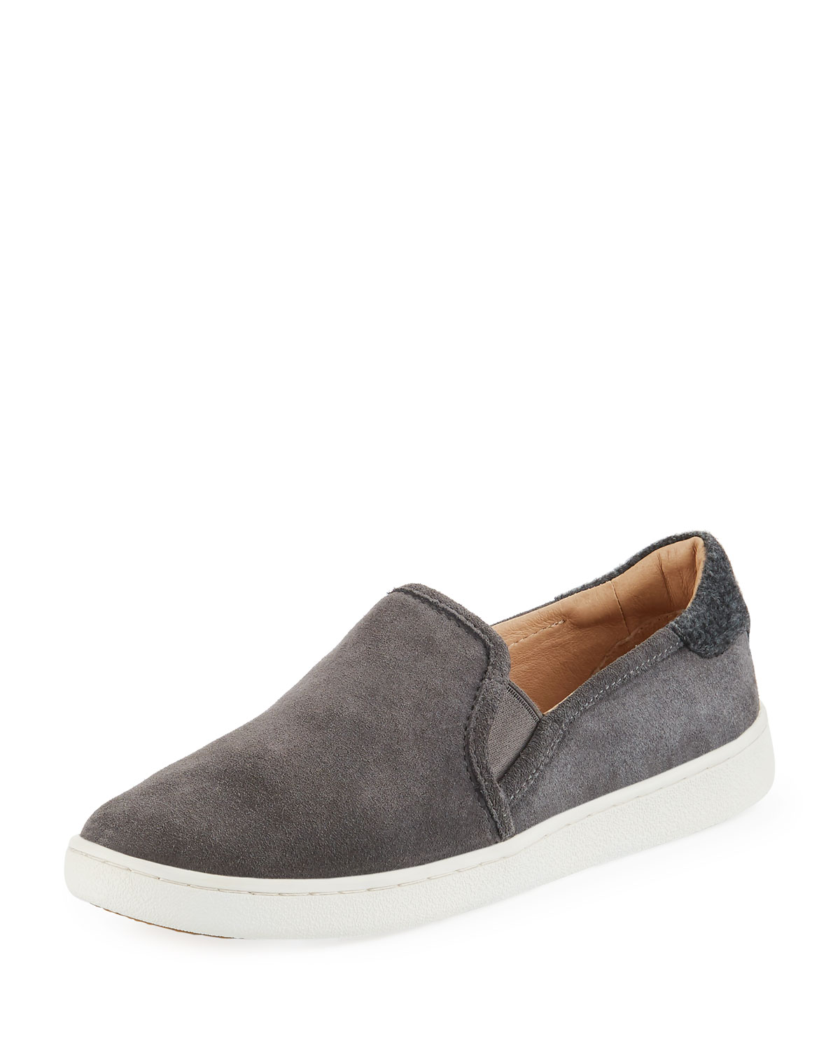 Cas Suede Slip On Sneakers