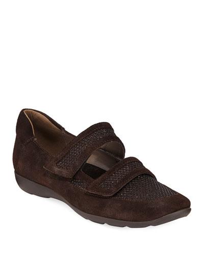 Gyan Suede Strap Sneakers