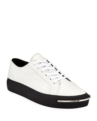 f81c8a9e2ce Alexander Wang Pia Bar-Toe Low-Top Sneakers