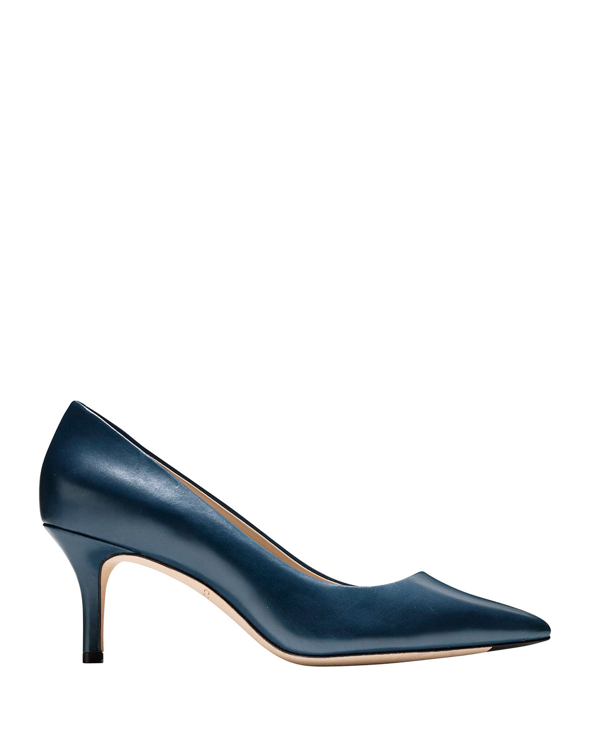 Cole Haan Vesta Grand Leather Point-Toe Pumps 31a6ff126