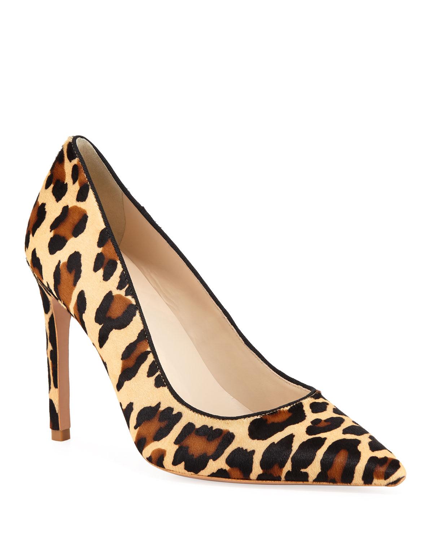 432a26bd9c16 Sophia WebsterRio Leopard Animal-Print High-Heel Pumps