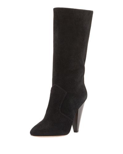 Olivia Sport Suede Mid-Calf Boots