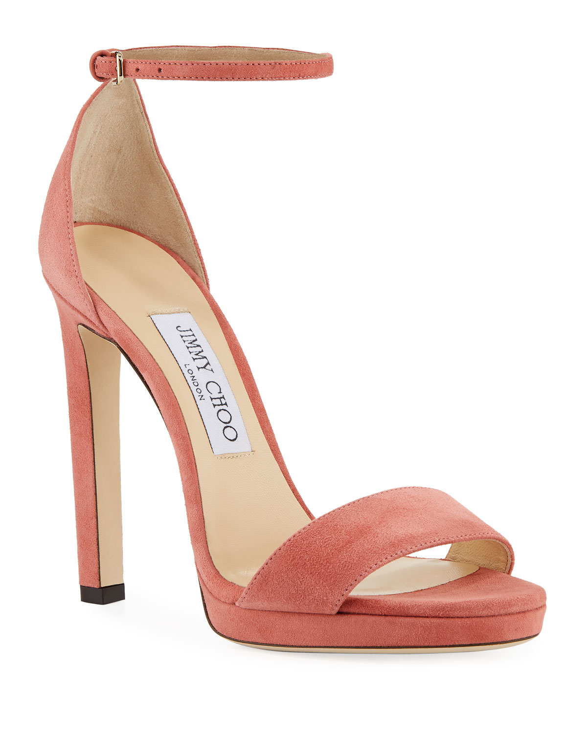 8162b481e6e5 Jimmy Choo Misty Suede Platform Sandals