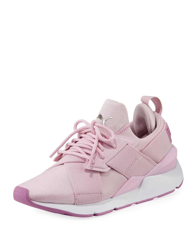 premium selection 9f423 7139e Women's Muse Satin II Sneakers, Purple