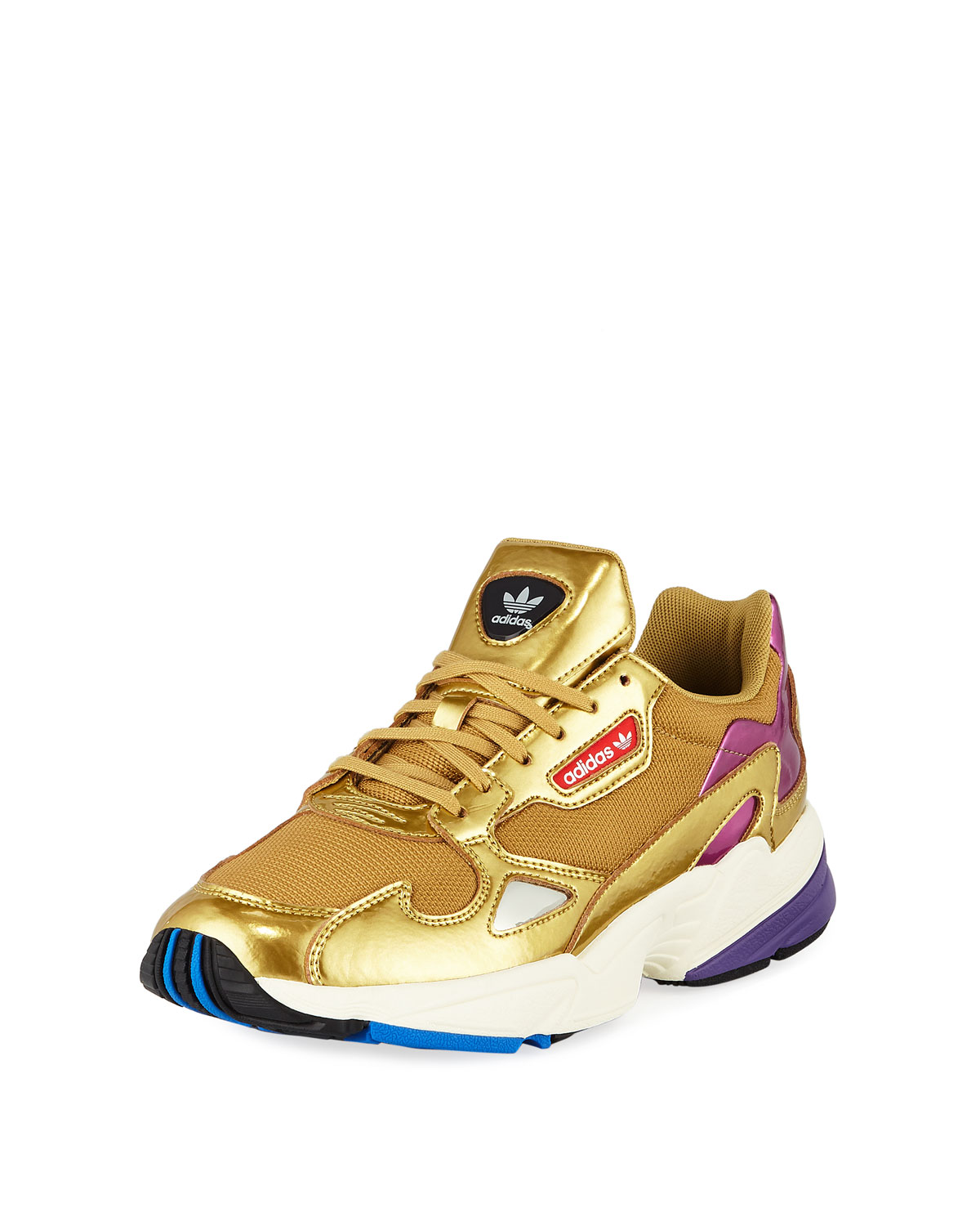 e7479fa02d Adidas Falcon Women s Metallic Sneakers