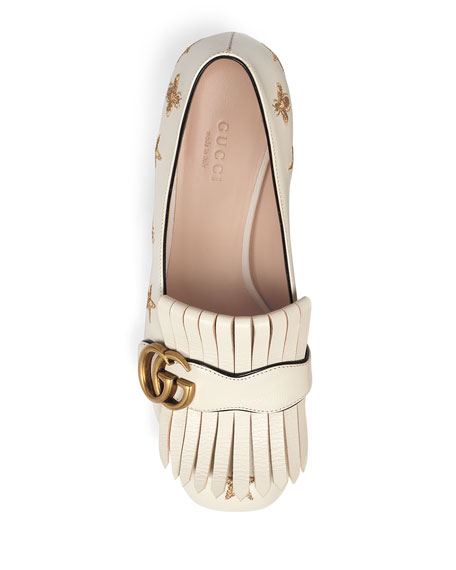 Gucci Marmont Bee And Star Loafers