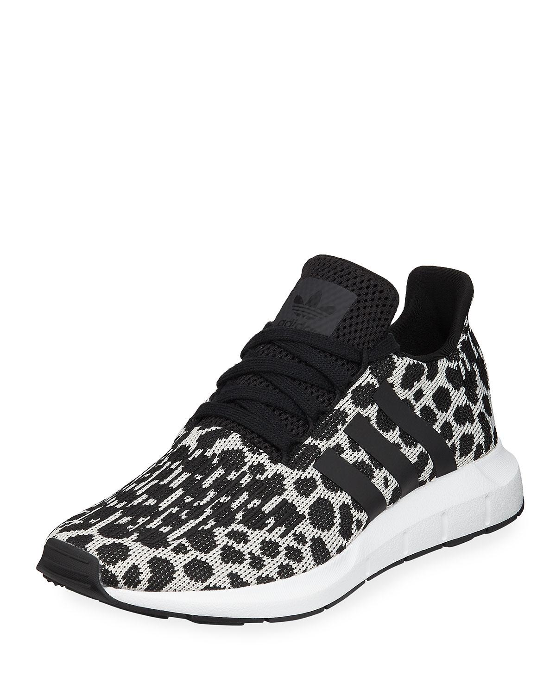 fd376a5c89079 Adidas Swift Run Cheetah-Print Trainer Sneakers