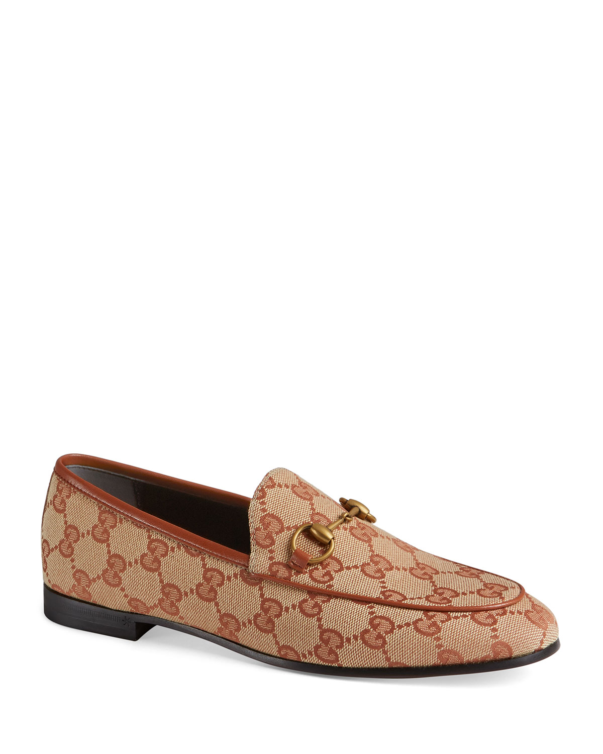 16121dd8538d Gucci GG Canvas Flat Loafers