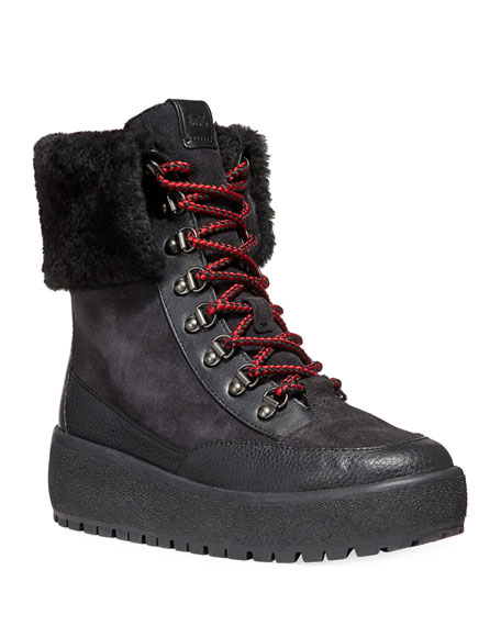 Tyler Fold-Over Shearling Boots