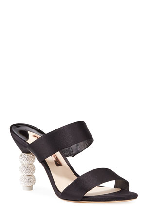 Sophia Webster Rosalind Crystal Slide Mules