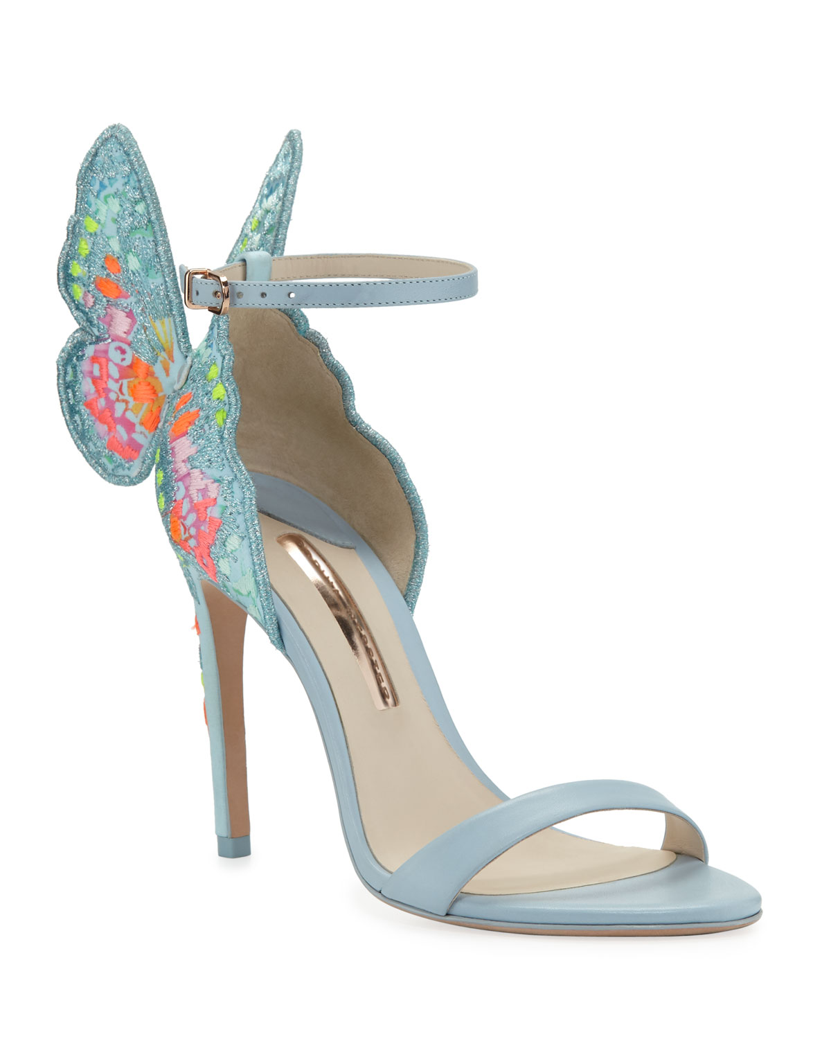 ec7c7b69cead Sophia Webster Chiara Embroidered Butterfly Sandals