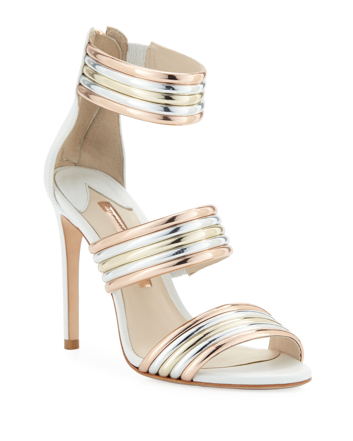 12fbaa70e Sophia Webster Joy Multi-Metallic Sandals