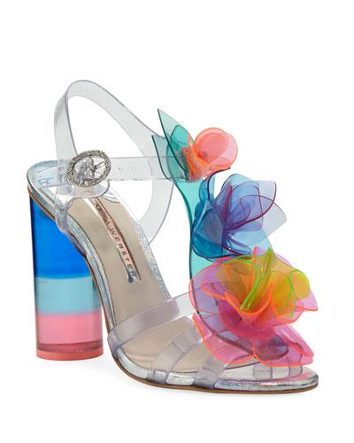 Jumbo Lilico Rosa Sandals