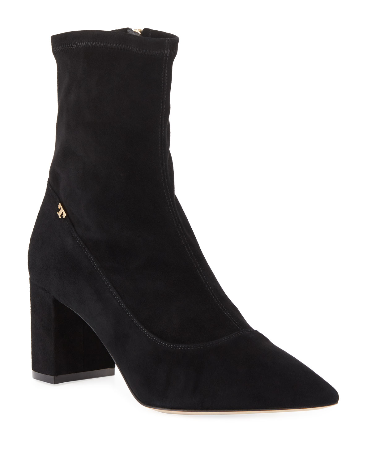 569db1ed05a3 Tory Burch Penelope Suede 65mm Booties