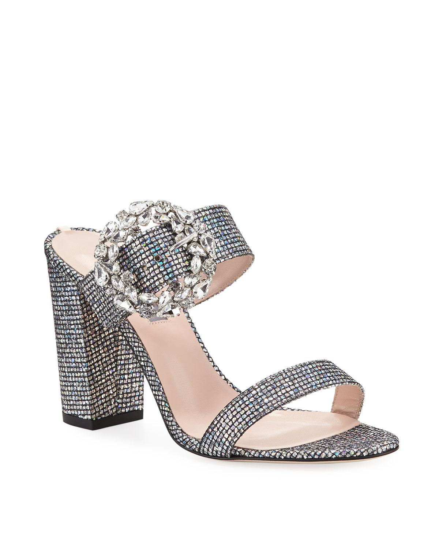 a59257e5f06 SJP by Sarah Jessica Parker Celia Embellished Sparkle Slide Sandals ...