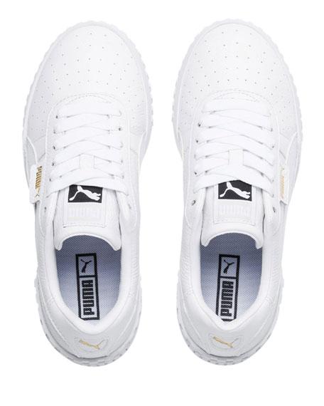 Puma Cali Platform Leather Sneakers