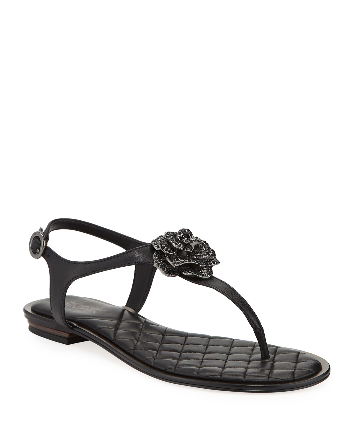 cd4acdc0b MICHAEL Michael Kors Lucia Leather Thong Sandals