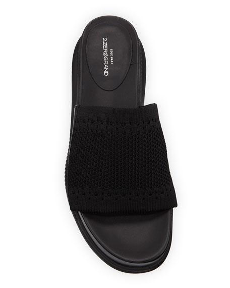 Cole Haan Zerogrand Stitchlite Platform Slide Sandals