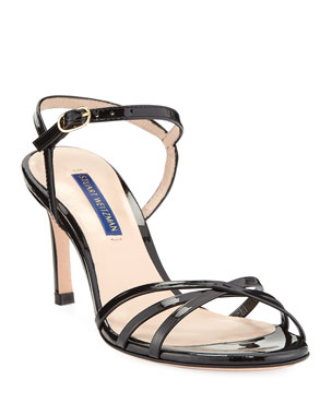 05e4af6a8060 Stuart Weitzman Starla Patent Leather Sandals