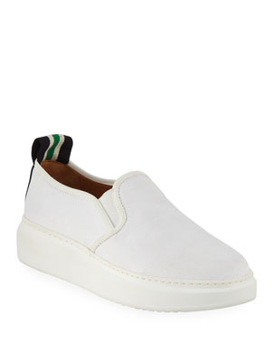 d56f84a63d05 Veronica Beard Westley Canvas Slip-On Sneakers