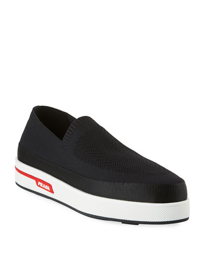 Stretch Slip-On Sneakers