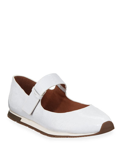 Luca Leather Mary Jane Sneakers