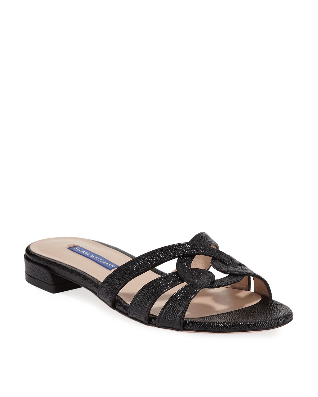 9208082c8805 Stuart Weitzman Cami Looped Knot Patent Sandals