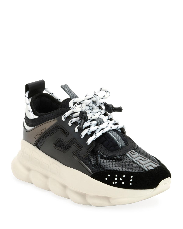 ef3e0ca4d55 Versace Chain Reaction Platform Sneakers