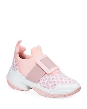 Roger Vivier Viv Run Knit Platform Sneakers 1473f1ea27b76