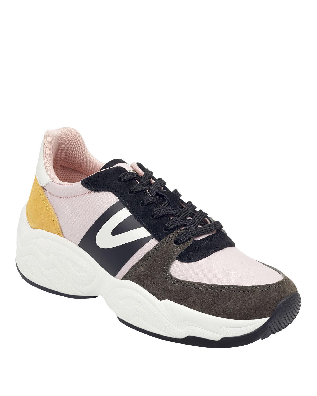 big sale 48e0c b9c83 Tretorn Lexie Suede Lace-Up Sneakers
