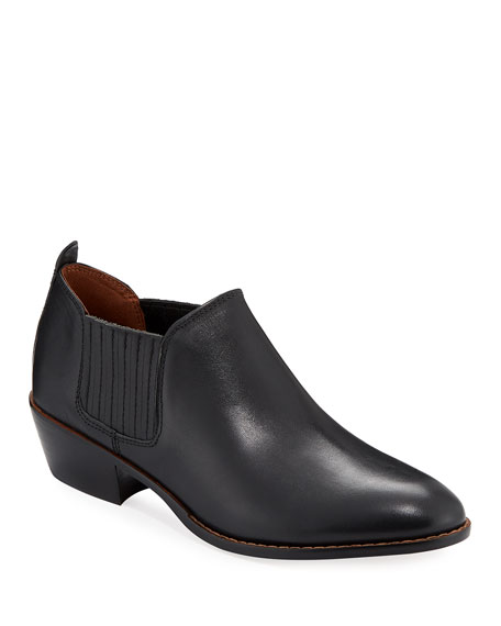 Coach Devin Leather Ankle Booties