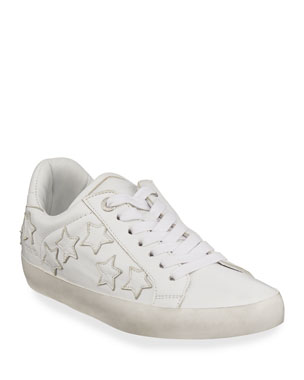 72f9cf40a4 Zadig   Voltaire Zadig Stars Leather Sneakers