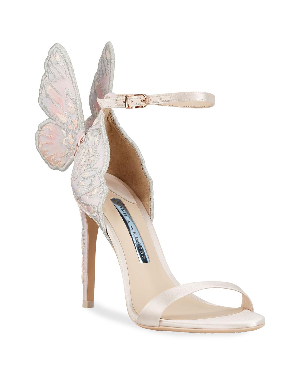 Sophia Webster Butterfly Heel Sandals in 2019   Butterfly