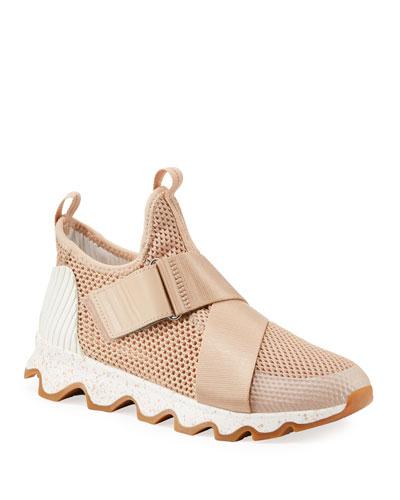 Kinetic Polyester Mesh Slip-On Sneakers