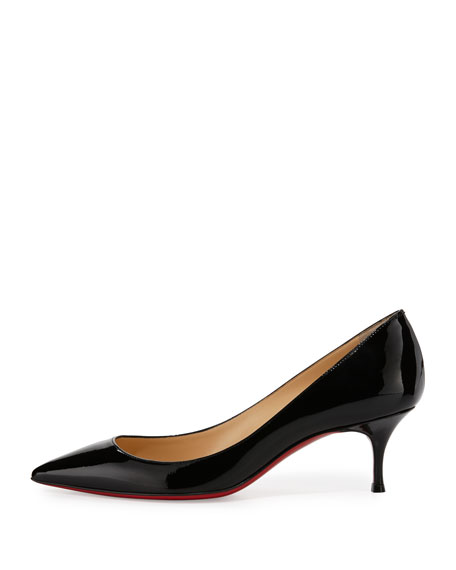 Christian Louboutin Pigalle Follies Degrade Patent Red Sole Pump