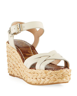 ef1651329fdee Sam Edelman Darline Leather Platform Espadrille Sandals
