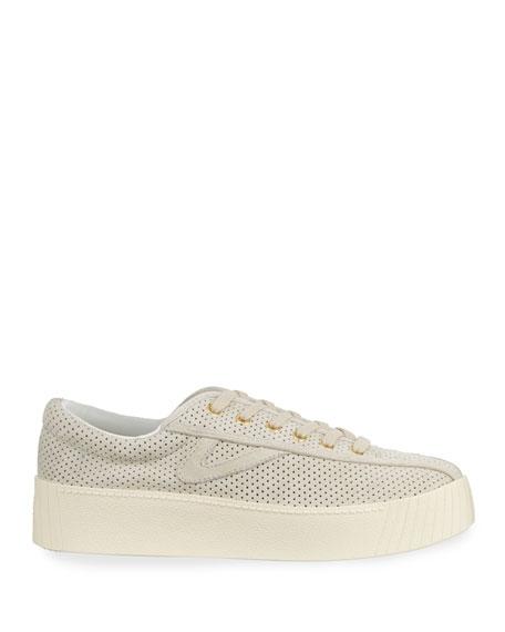 Tretorn Nylite Bold Suede Platform Sneakers