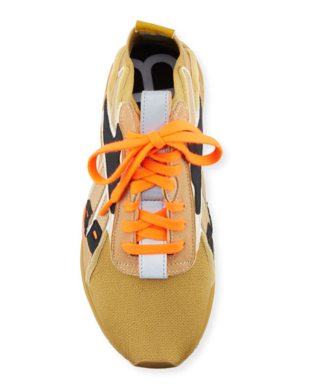 Reebok by Victoria Beckham Bolton Lace-Up Knit Sock Sneakers