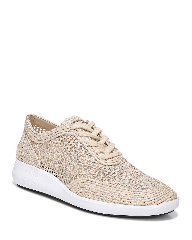 Via Spiga Macra Lace-Up Sneakers