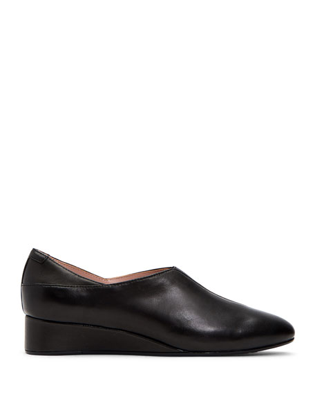 Taryn Rose Collection Carmela Demi-Wedge Leather Pumps