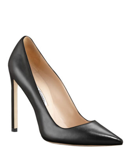 Manolo Blahnik BB Leather 115mm Pump